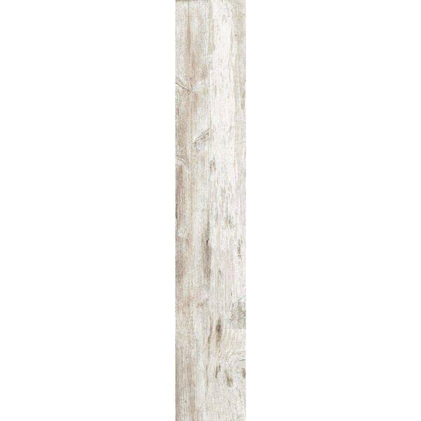 Hardwood White Wood Effect Anti-Slip Porcelain Tiles