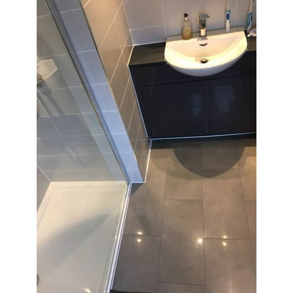 Surface Cool Grey Lappato Wall And Floor Tiles