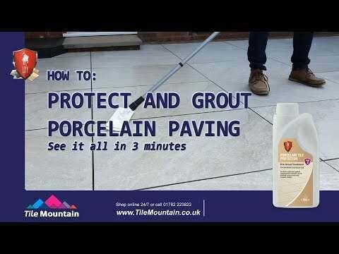 LTP Porcelain Tile Protector - Pre Grout Treatment Interior & Exterior Use