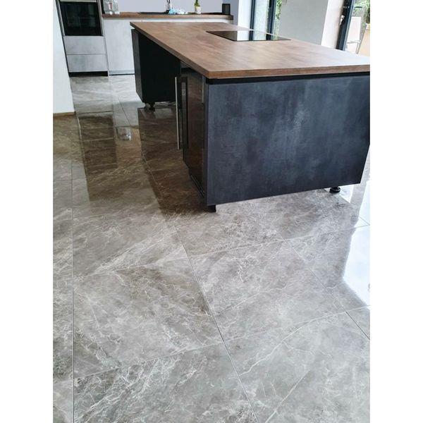 Balmoral Grey Gloss Floor Tiles