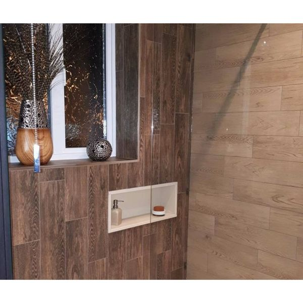 Nordic Wood Light Brown Wood Effect Wall and Floor Tiles