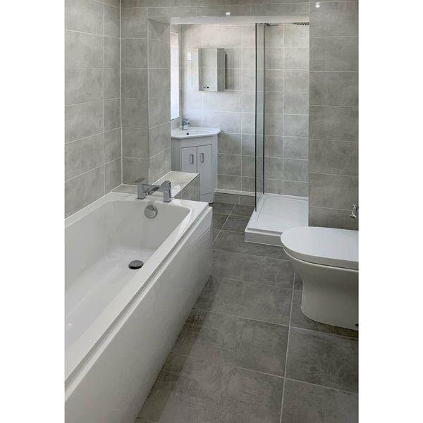 Aspendos Light Grey Gloss Wall Tiles