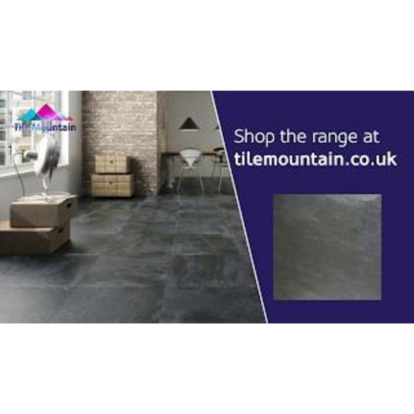 Nature Black Slate Floor Tiles