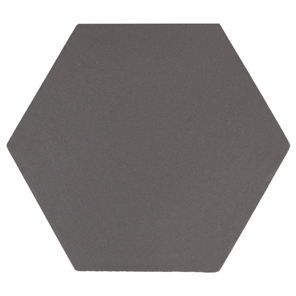 Kromatika Hexagon Black Porcelain Wall & Floor Tile