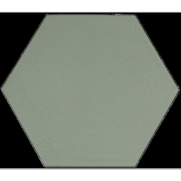 Kromatika Hexagon Green Porcelain Wall & Floor Tile