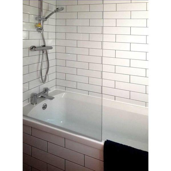 Linear White Gloss Wall Tiles