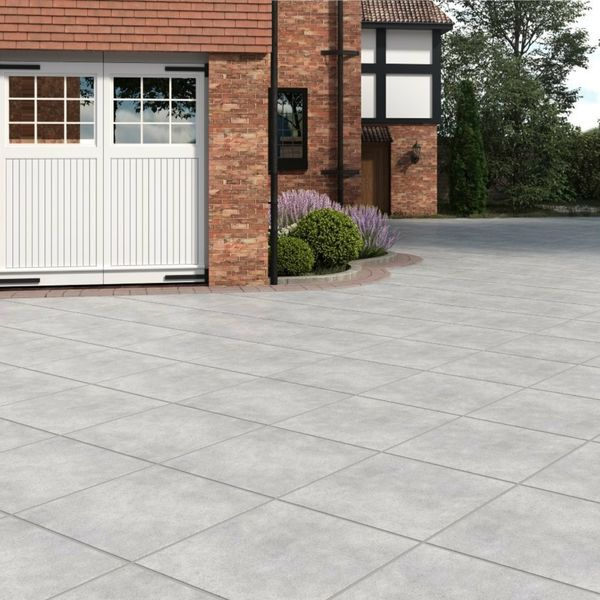 Livermore Pearl Outdoor Slab Tiles