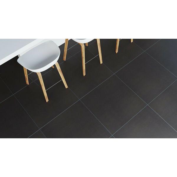 Lounge Black Matt Porcelain