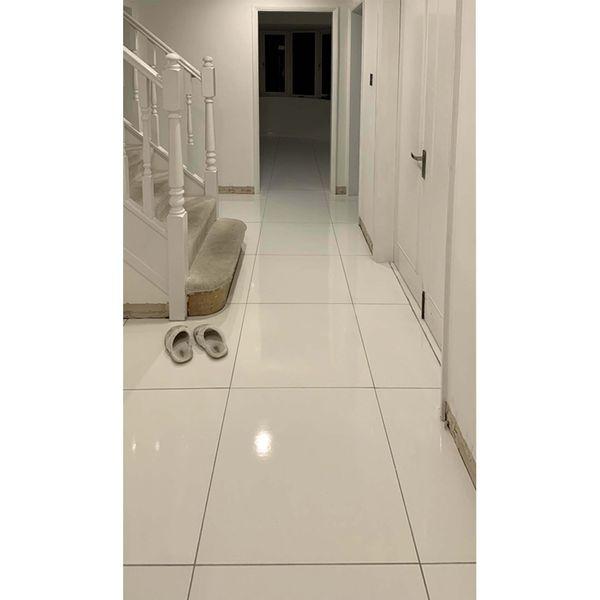 Blanco Rectified Gloss Porcelain Floor Tile