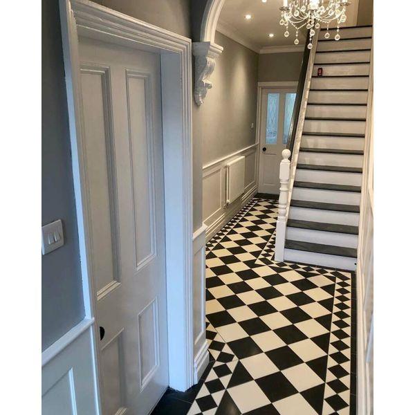 Victorian Grey Floor Tiles