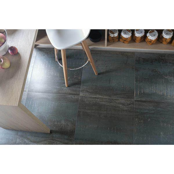 Metal Iron Rect Porcelain Floor Tile