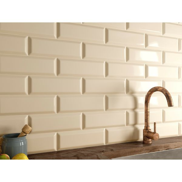 Metro Cream Wall Tiles