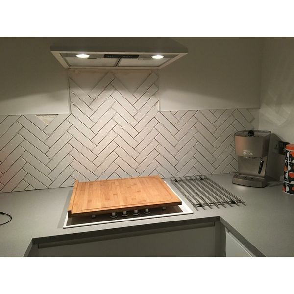 Microline White Gloss Wall Tiles