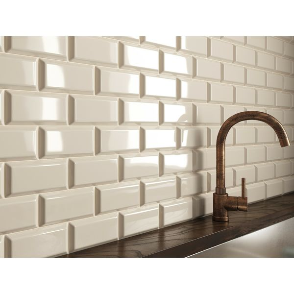 Mini Metro Cream Wall Tiles