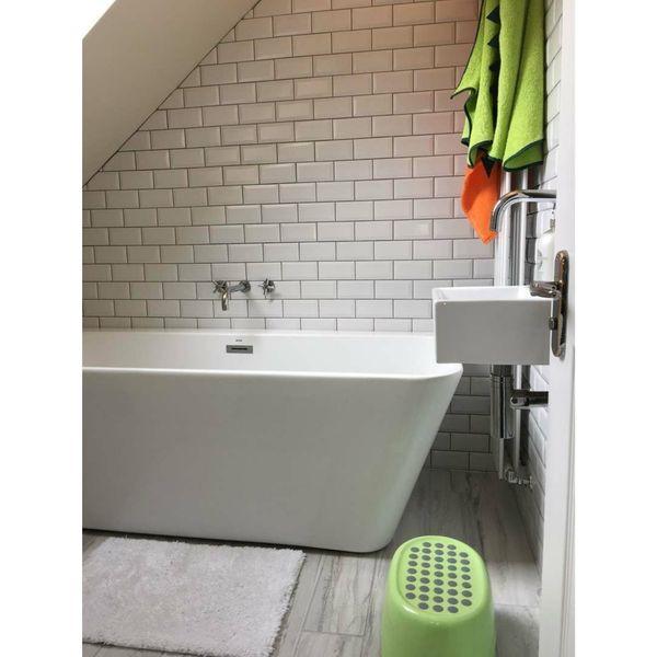 Mini Metro Matt White Wall Tiles