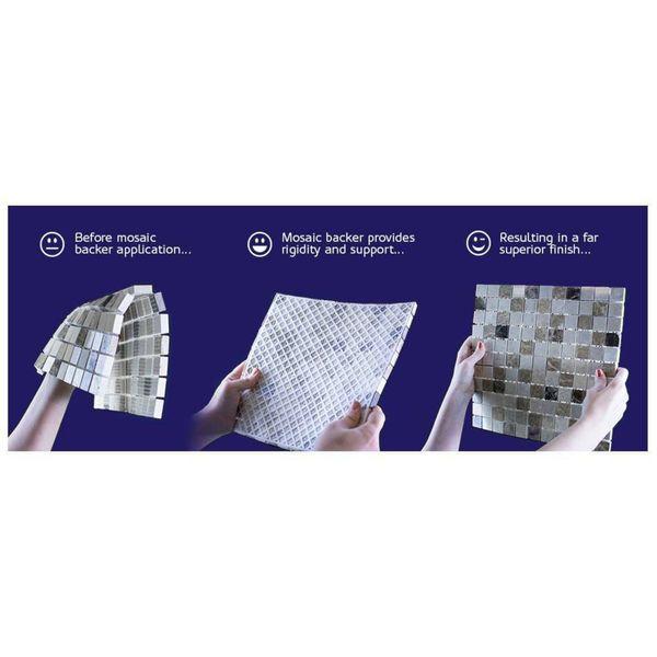Hong Kong Beige Mix Glass Mosaic 23x23