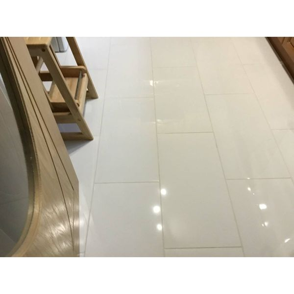 Extreme White Polished Porcelain Wall and Floor Tiles