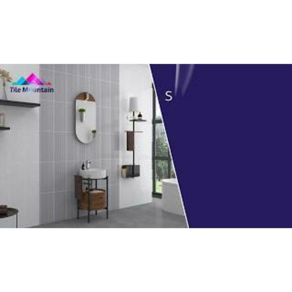 Lineal White Gloss Wall Tiles