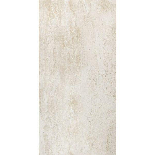 Naples Gloss Travertine Effect Cream Wall Tile
