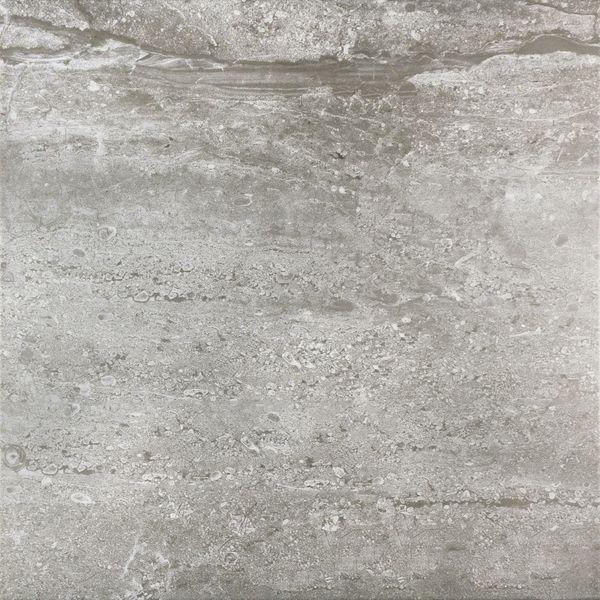 Naples Matt Travertine Effect Dark Grey Floor Tile