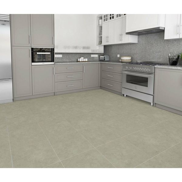 Athens Ivory Stone Effect Porcelain Wall and Floor Tile