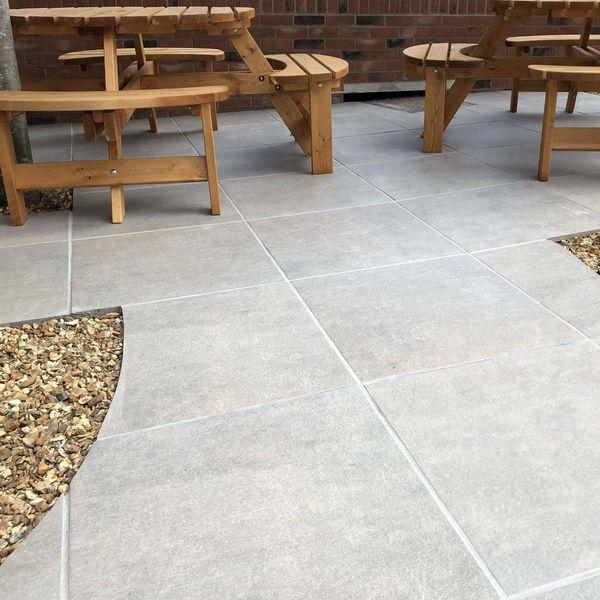 Nexus Clay Outdoor Slab Tiles