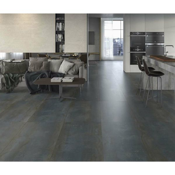 Metal Iron Rect Porcelain Wall And Floor Tile