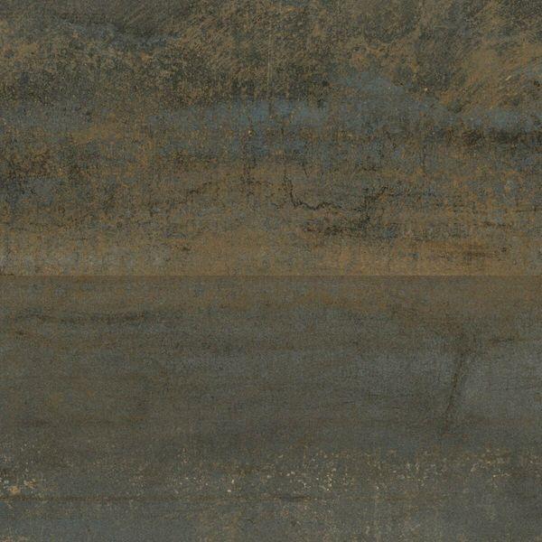 Metal Rust Rect Porcelain Floor Tile