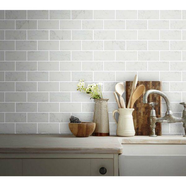 Paros Marble Effect Matt Wall Tiles