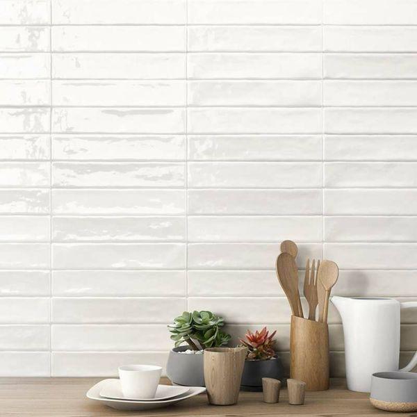 Piacenza Mix White Wall Tile