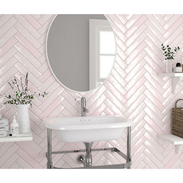 Piacenza Mix Rose Wall Tile