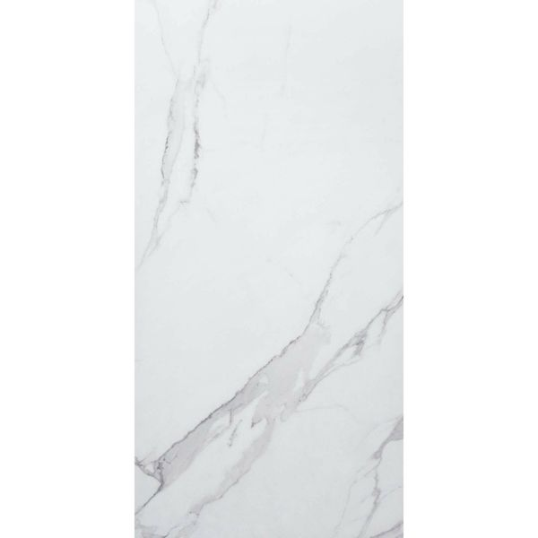 Place White Marble Effect Wall and Floor Tiles