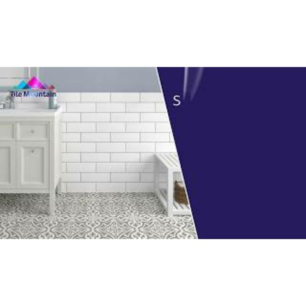 Devonstyle Grey Pattern Wall and Floor Tile