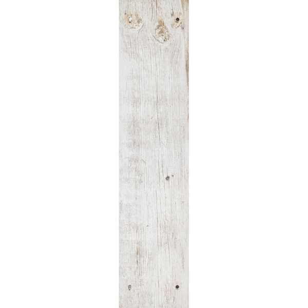 Reclaimed White Oak Nailed Wood Effect Floor Tile