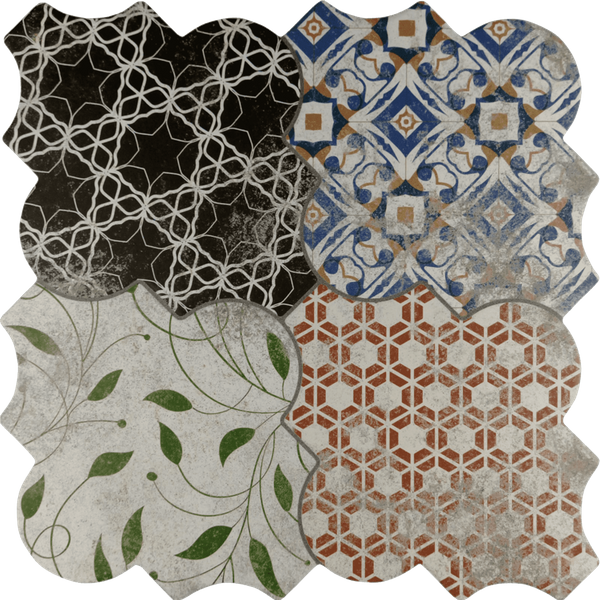 Riga Patchwork Wall and Floor Tiles
