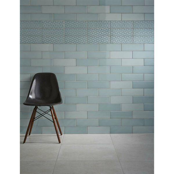 Savoy Leaf Gloss Wall Tiles