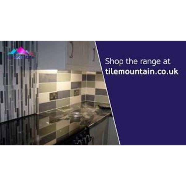 Linear Sage Gloss Wall Tiles