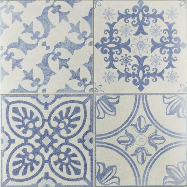 Skyros Delft Blue Wall and Floor Tiles