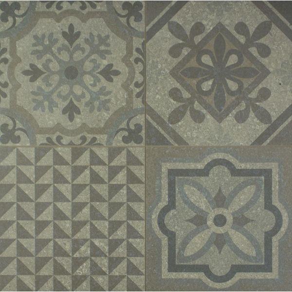 Skyros Delft Grey Wall and Floor Tiles