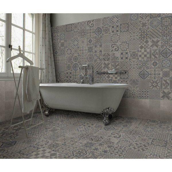 Skyros Grey Wall and Floor Tiles