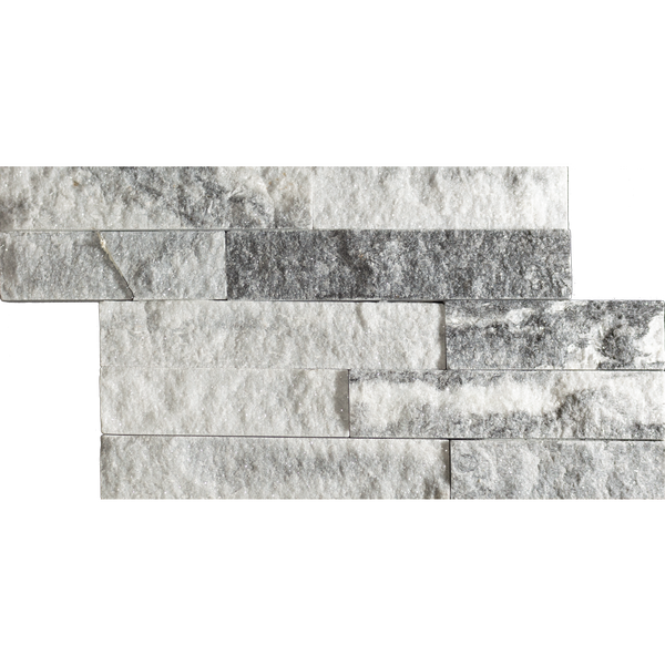 Sparkle Ice Grey Split Face Mosaic