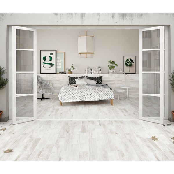 Mikeno Ash Wood Effect Wall And Floor Tiles
