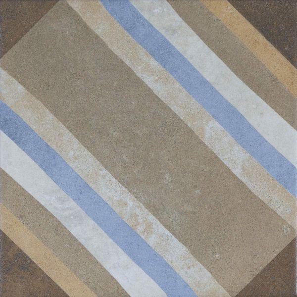 Swing Decor Beige Multicolour Stripe Wall and Floor Tiles