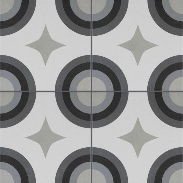 Swing Decor Night and Day Geometric Wall and Floor Tiles