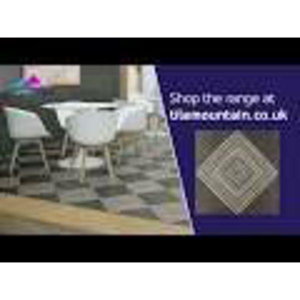Rombos Rustic Patterned Floor Tiles