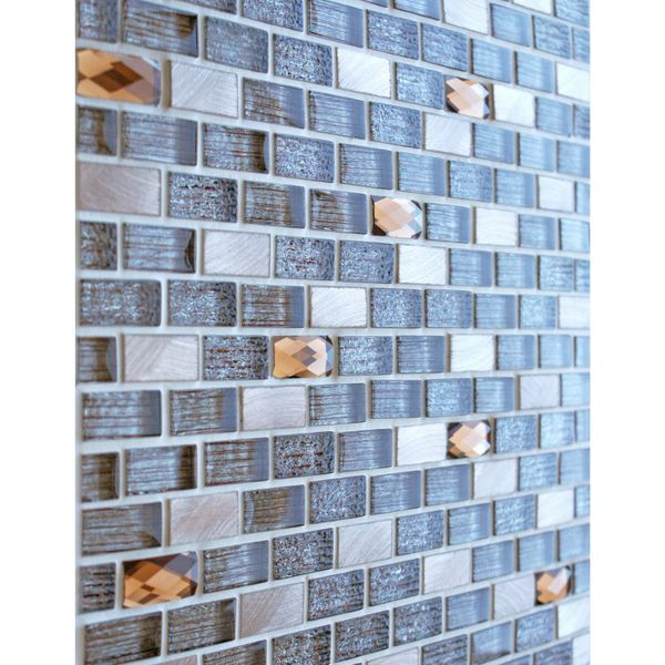 Grace Bronze Glass Mosaic 288x306