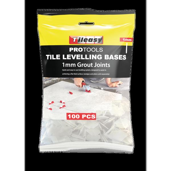 1mm Tile Wedge Levelling Base - 100 per pack