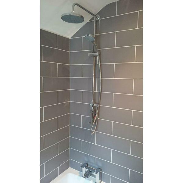 Tones Charcoal Wall Tiles