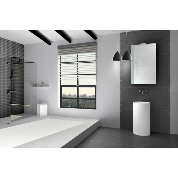 Trinity Lux White Porcelain Wall And Floor Tiles