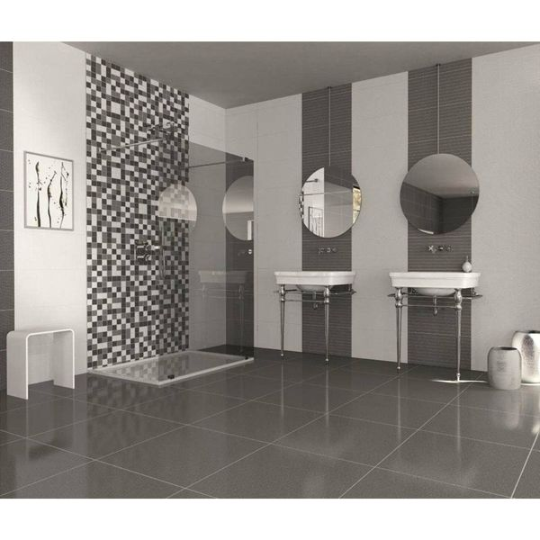 Trinity Lux Grey Porcelain Wall And Floor Tiles
